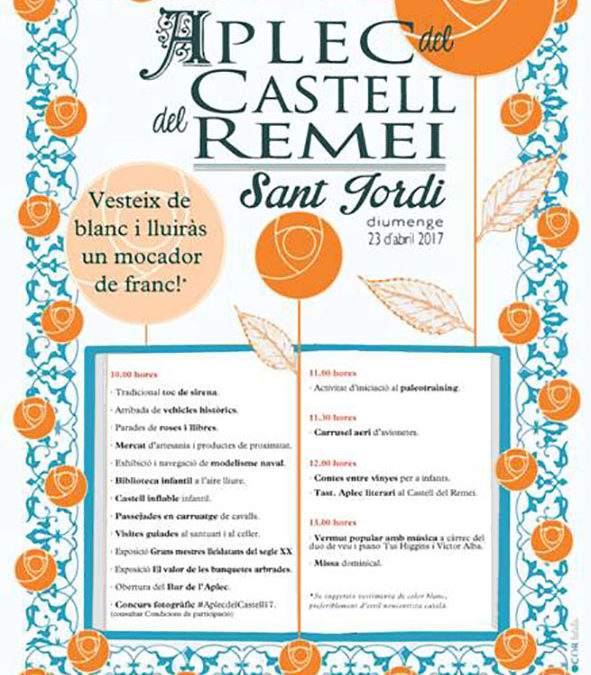 Aplec del Castell del Remei, per Sant Jordi