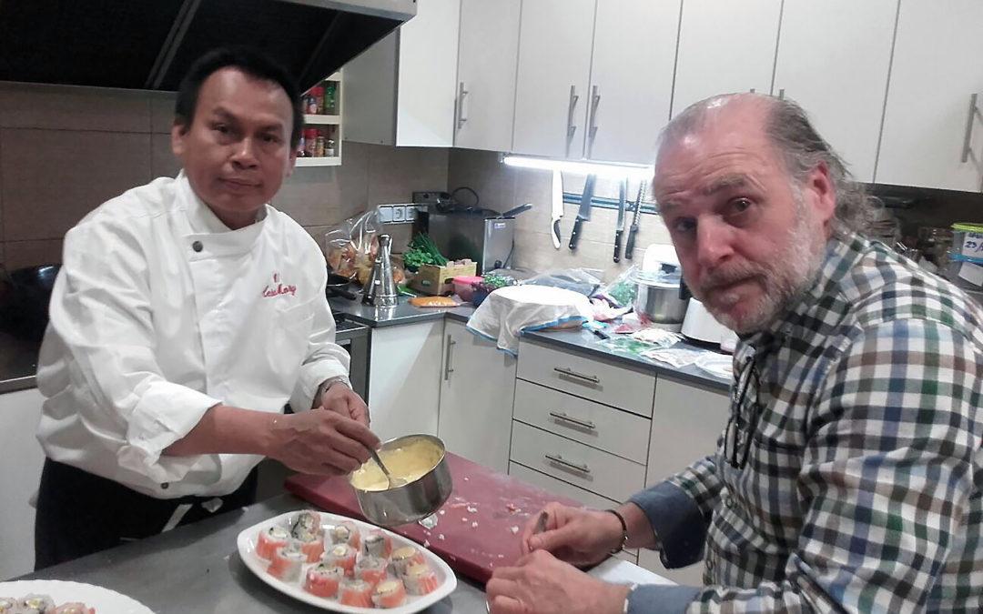 Exhibició de cuina Nikkei amb César Mory a Lo Tall