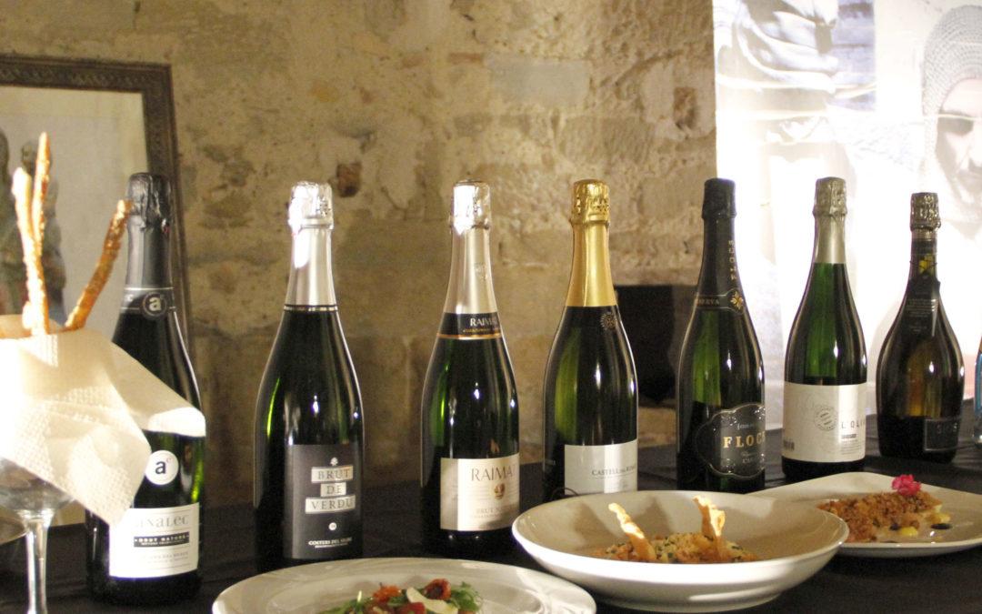 Tast comentat de Bombolles de Lleida al Castell de Gardeny