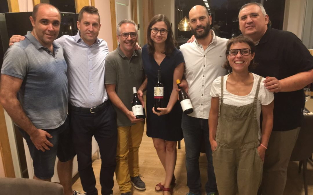 Solidarity wine of Lagravera, Mas Blanch i Jové and Terrer de Pallars