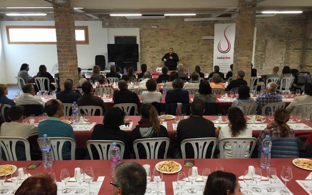 Cata de vinos de Les Garrigues en Juneda
