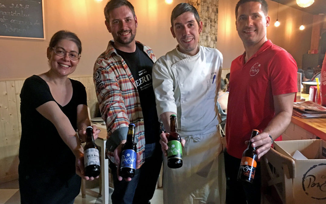 Pairing of Cerveses de Ponent with Esteve Cantos in the Txoko