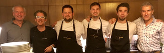 Gibbens and his team present the cuisine they will offer in Wellbourne