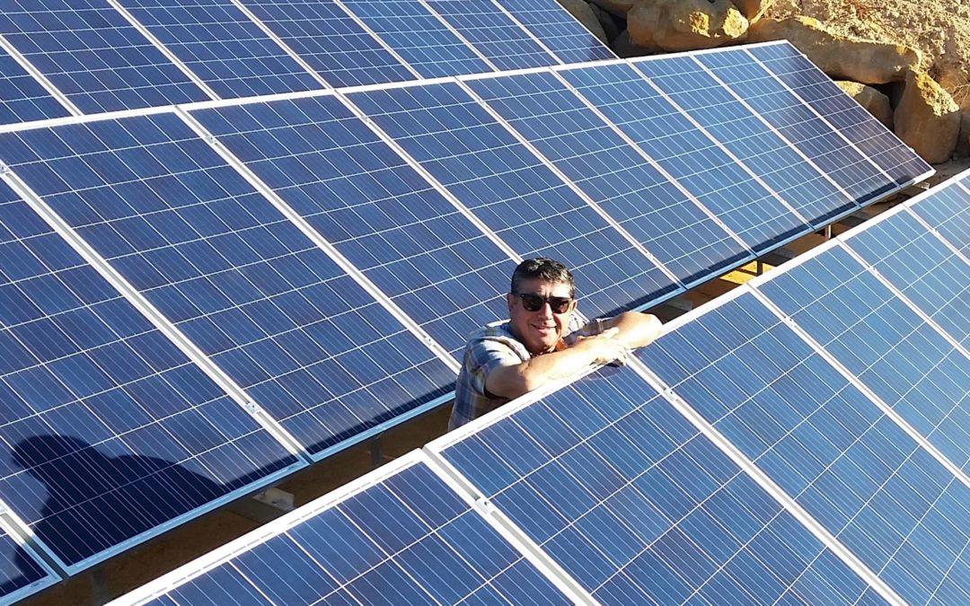 Mas Blanch i Jové se nutre con energía solar