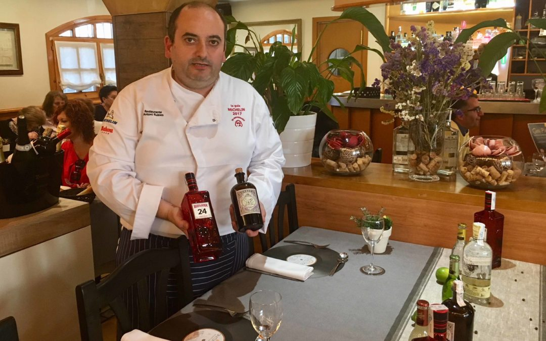 Antoni Rúbies pairs gintonics with foie, octopus, veal and chocolate