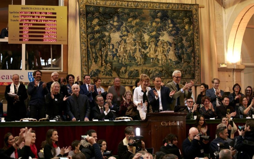 Record of 13.5 million euros at the Hospices de Beaune auction