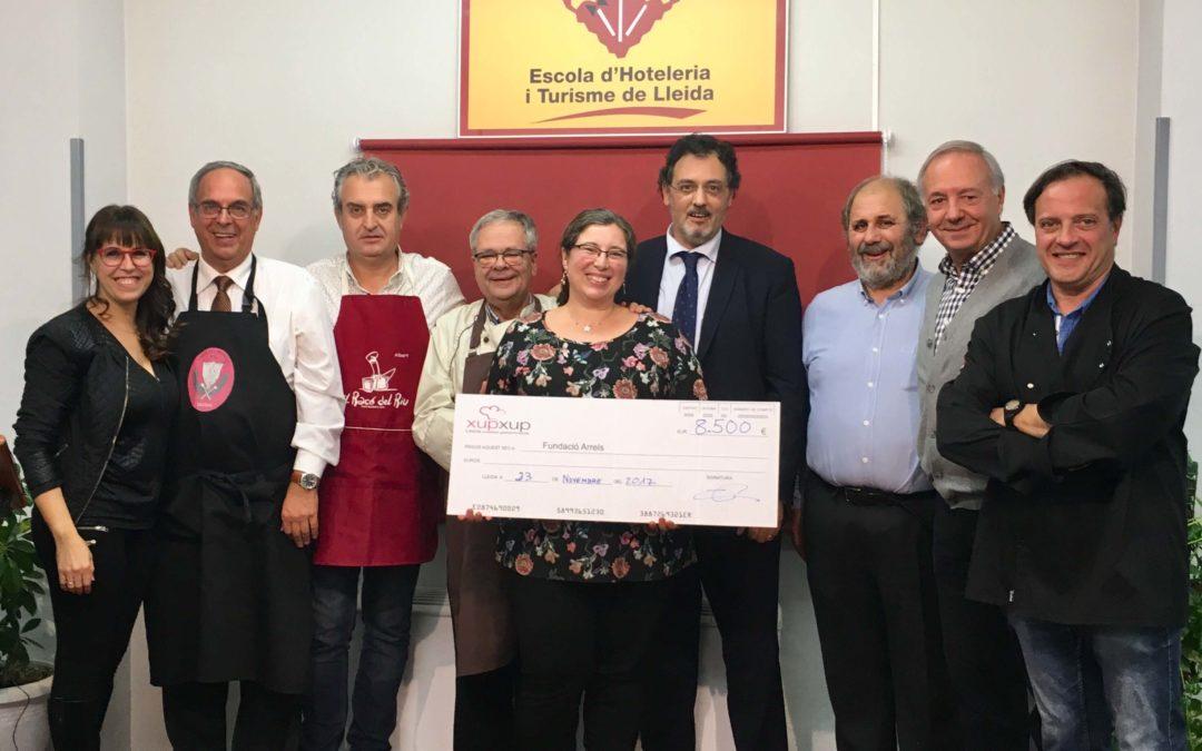 El Xup Xup solidari 2017 recapta 8.500 euros per Arrels Sant Ignasi