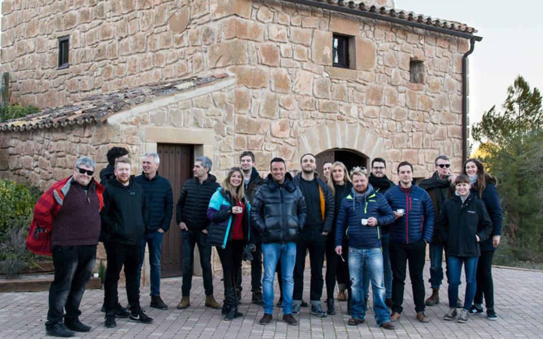 Xefs britànics visiten finques i el Molí de Grup Pons