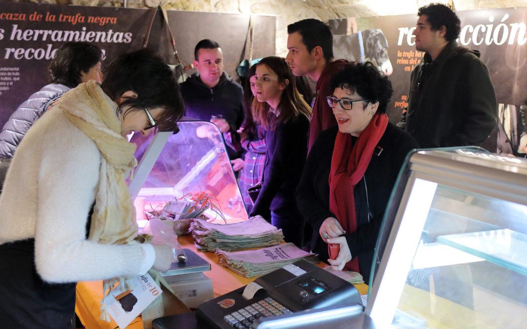 La mostra Trufa-te arriba a Montsó amb nou tapes de tòfona