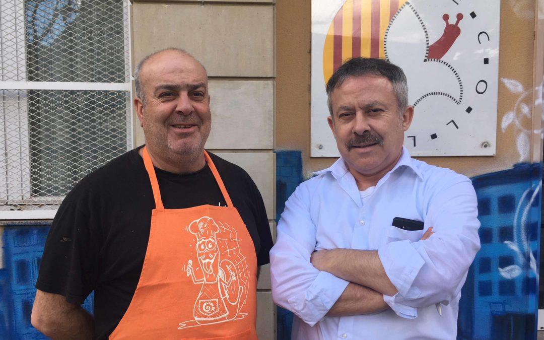 Esmorzars i menús a la Fecoll, amb Josep Vila  i Cinto Montanull