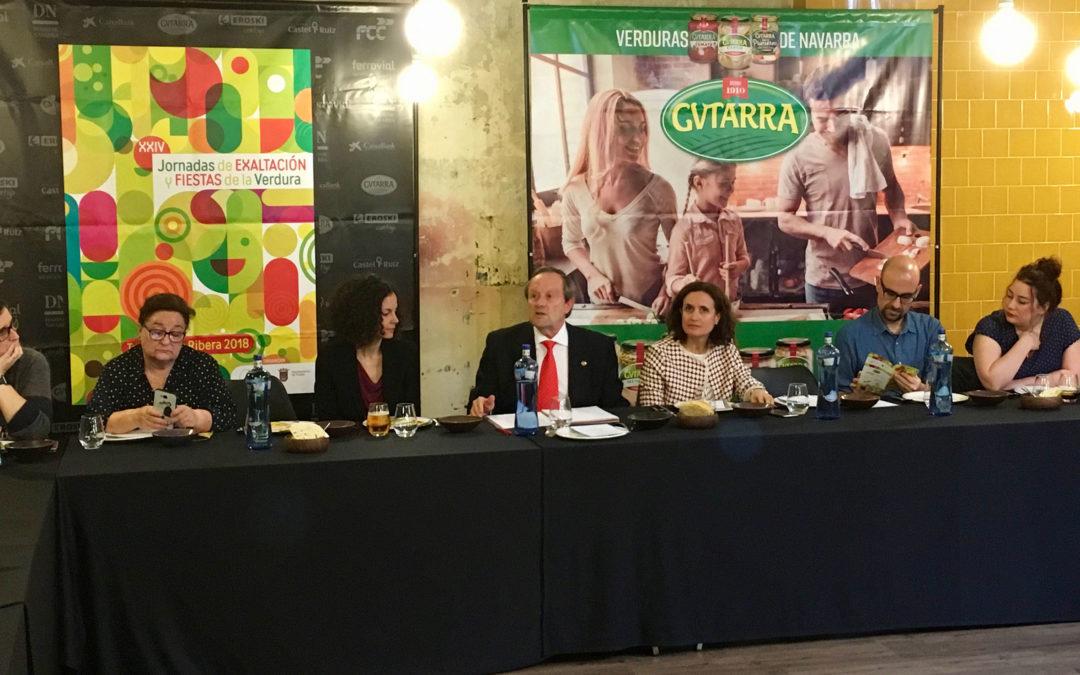 Gvtarra promociona la Festa de la Verdura de Tudela