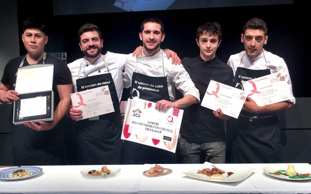 Christian Lapó gana el concurso de cocina de la Fira Q de Balaguer