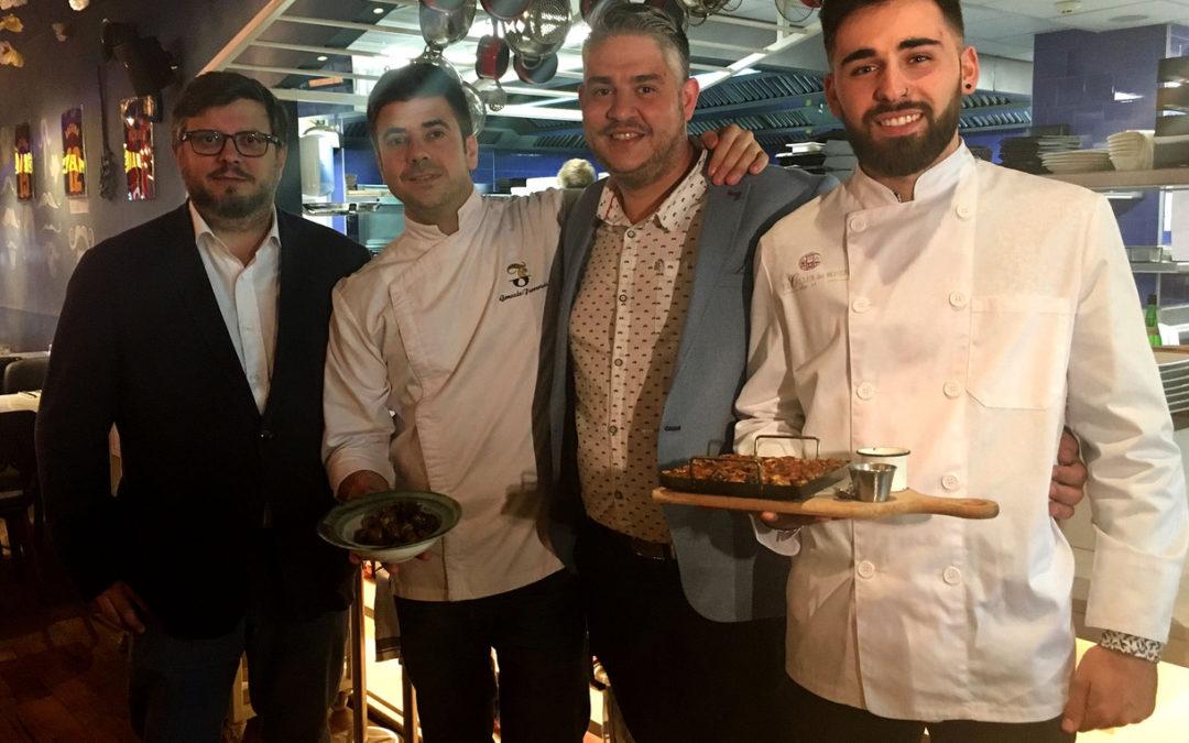 (Català) L'Aplec porta els caragols de Lleida al restaurant del Messi