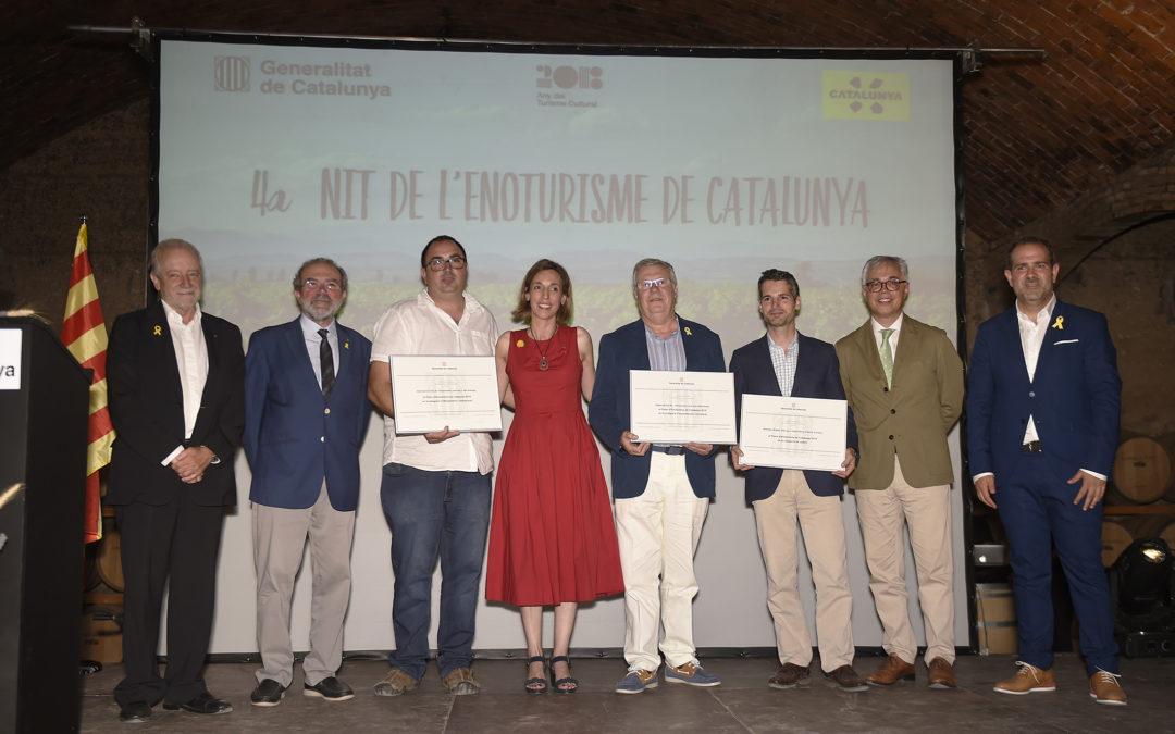 (Català) Premis d'Enoturisme per a Abadal, Sapiens Travel i Cuina de l'Empordanet