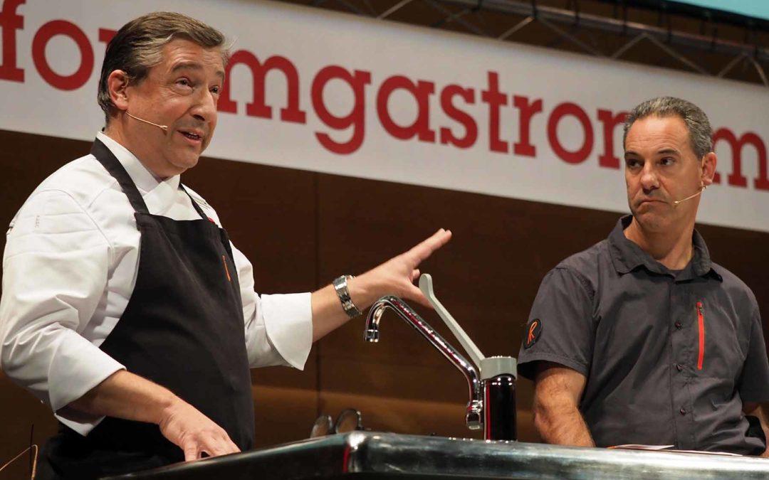 Joan Roca i Jordi Cruz, ponents del Fòrum Gastronòmic de Girona