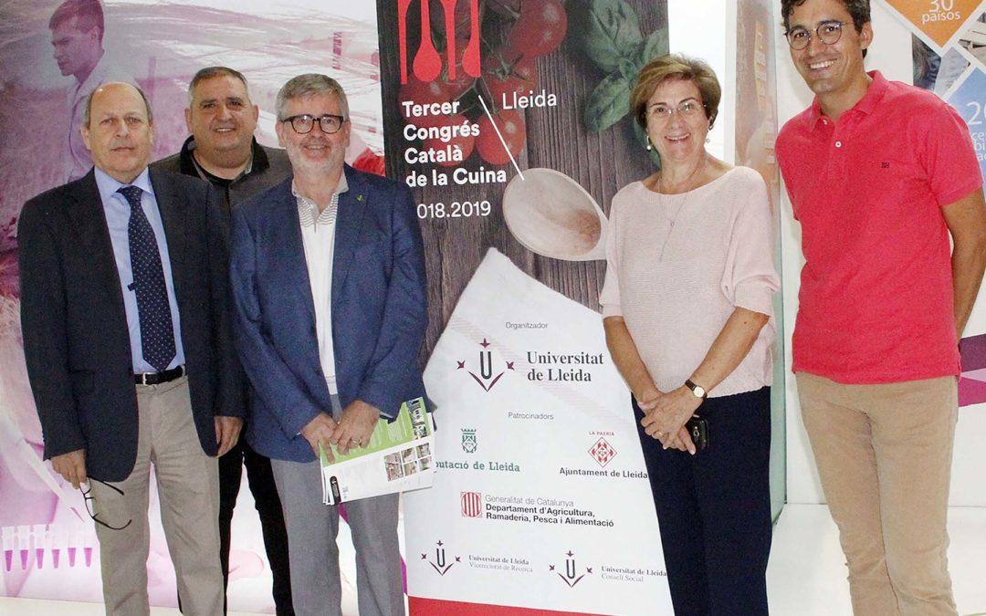 El III Congrés Català de la Cuina ultima els preparatius de la inauguració del 16 d'octubre a La Llotja