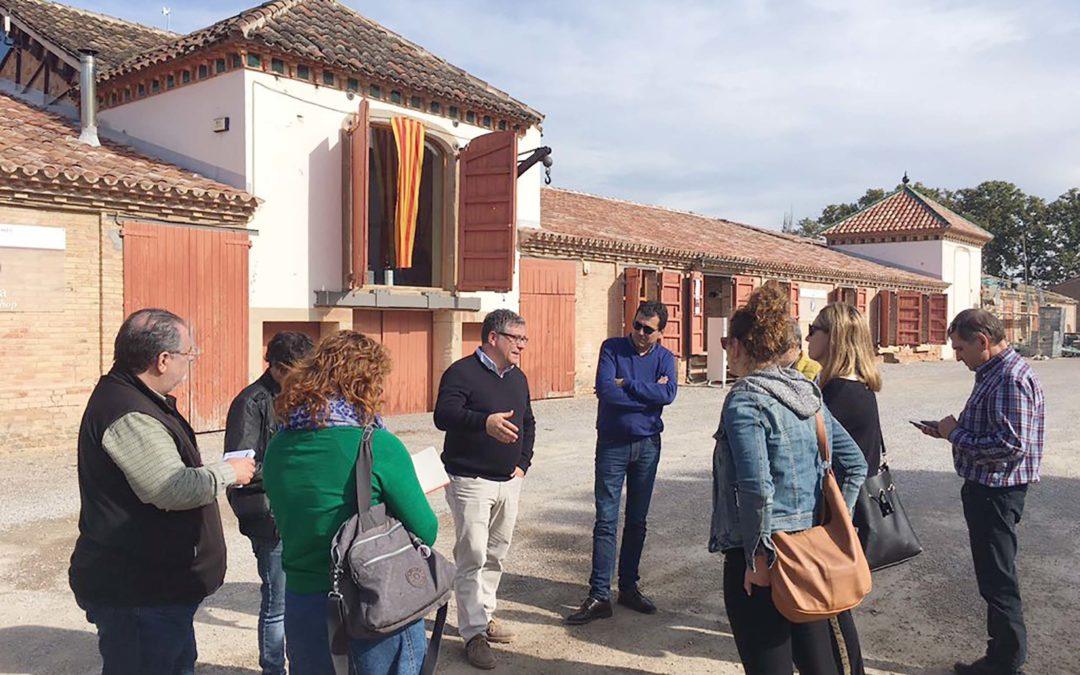 Como Pomona organitza el primer viatge de premsa de la Festa del Vi de Lleida