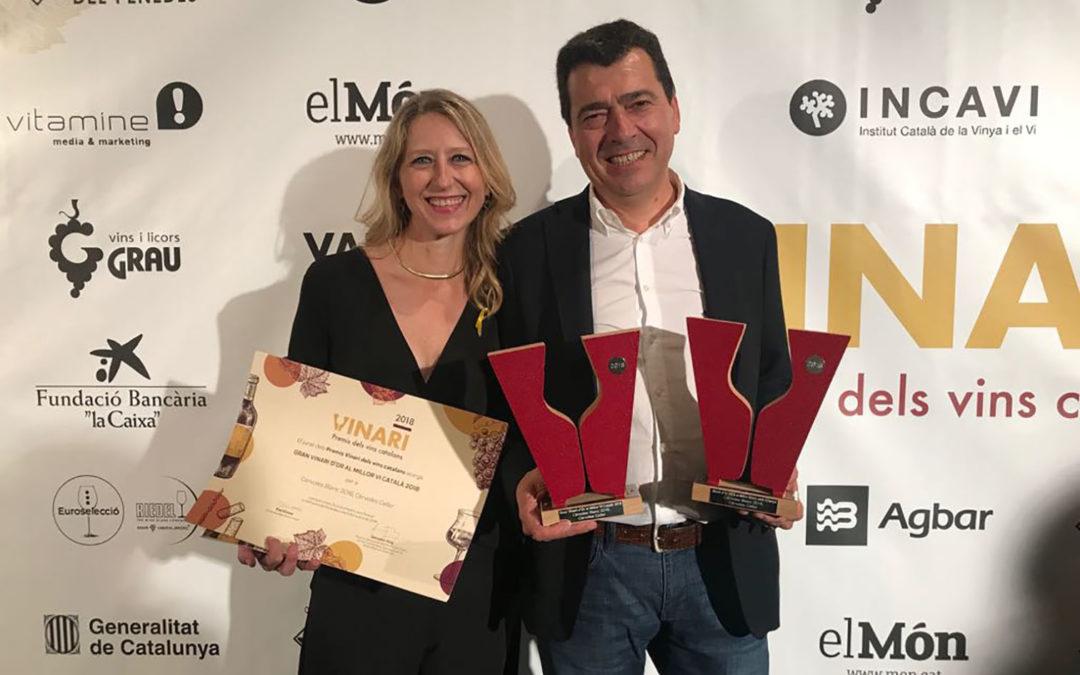 El leridano Cérvoles Blanc 2016, mejor vino de Cataluña en los Premios Vinari 2018