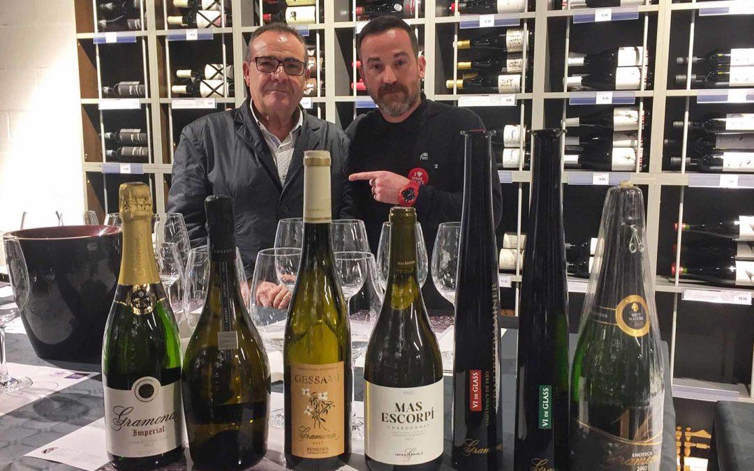 Cata de Gramona en el Wine Palace de Lleida