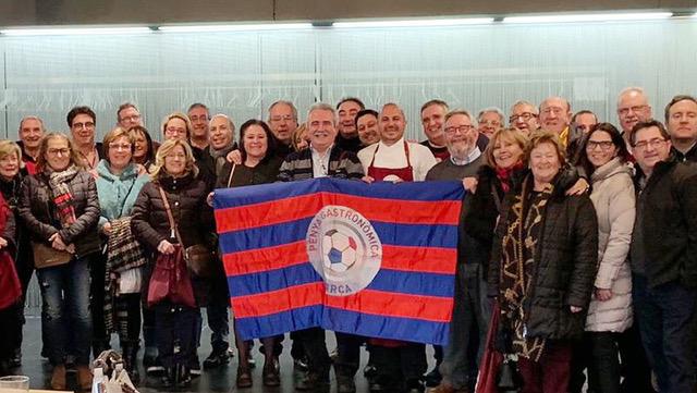 La Peña Gastronómica Barça visita Lleida y La Boscana