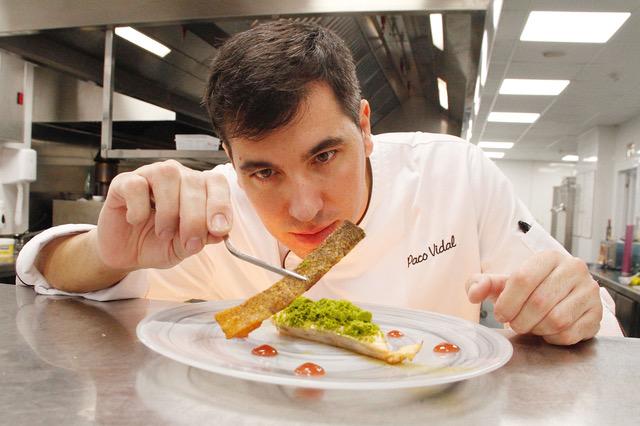 (Català) Paco Vidal, el nou xef del restaurant d'El Parador el Roser