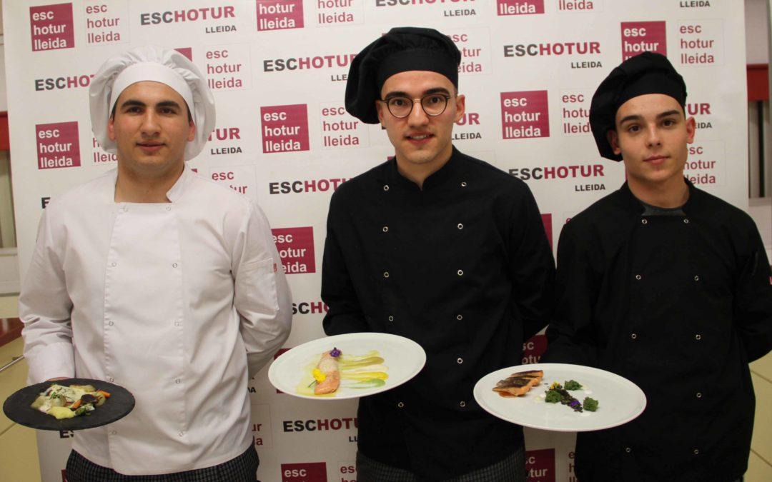 Eduard Pires de Moura gana el IV Concurso de Cocina de la Trucha de río de Alfarràs