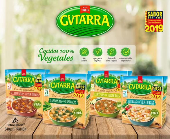 """(Català) Els 'Cocidos Vegetales' de Gvtarra, escollits """"Sabor de l'any 2019"""""""