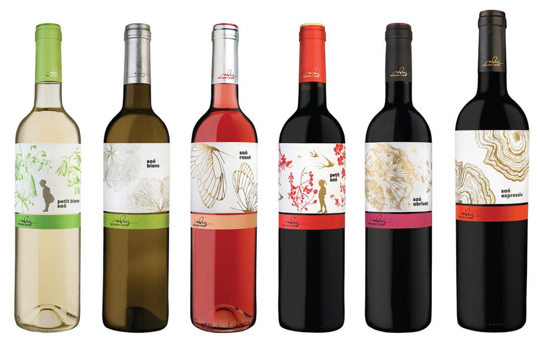 Nous premis per als vins Saó i Troballa de Mas Blanch i Jové