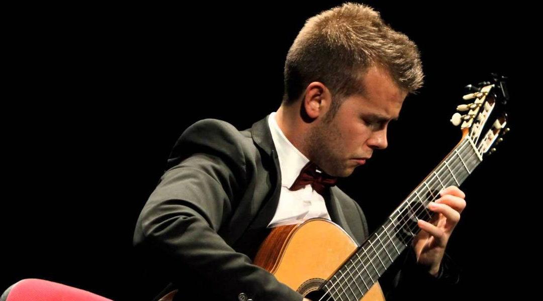 (Català) Concert de guitarra de Ferran Talarn, a l'Espai Saó de Mas Blanch i Jové