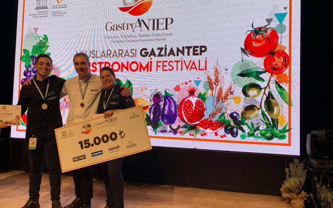 (Català) El lleidatà Jordi Guillem campió del Mundial de Cuiners d'Hotel