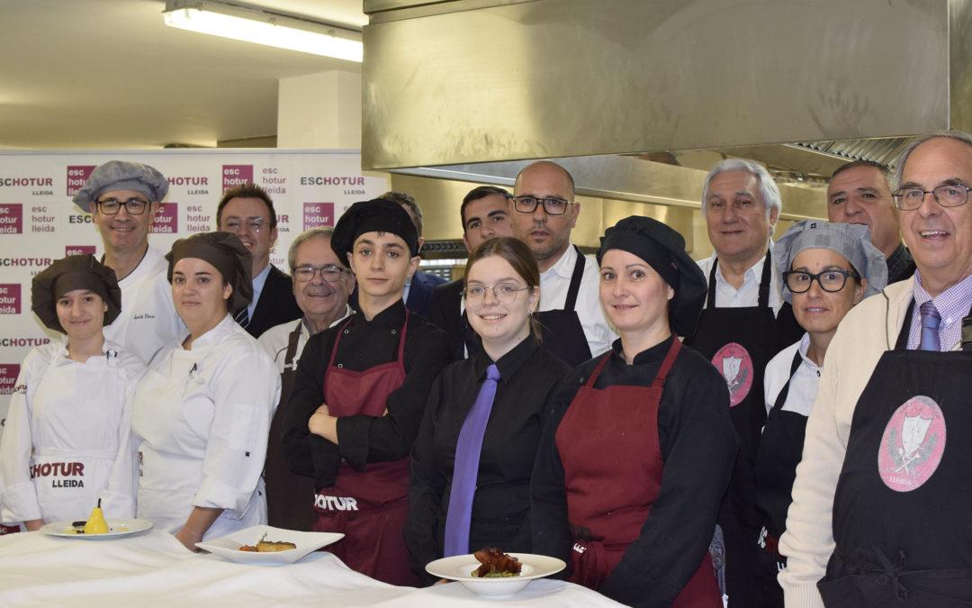 El Xup Xup Solidari celebra deu anys amb un menú farcit d'ingredients lleidatans