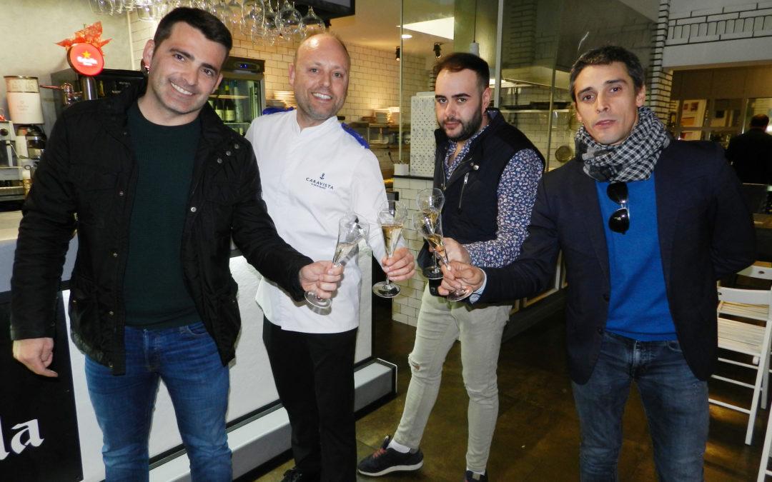"""Tomàs, Castaño, Bonillo i Villaró, protagonistes amb Mateu Blanch dels """"A 4 Mans Lleida"""" del Caravista"""