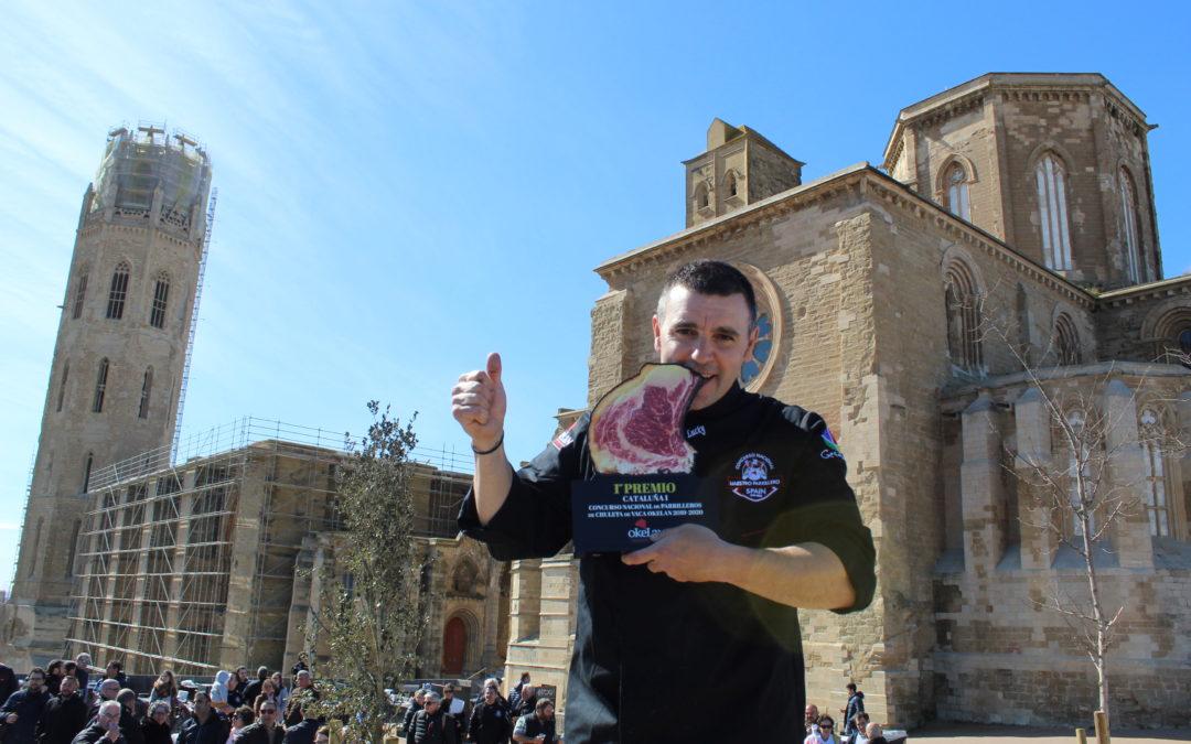 """José Manuel Fernández """"Lucky"""" de la braseria Eth Cerer de Montadi, a la gran final del Campionat Nacional de Graellers"""
