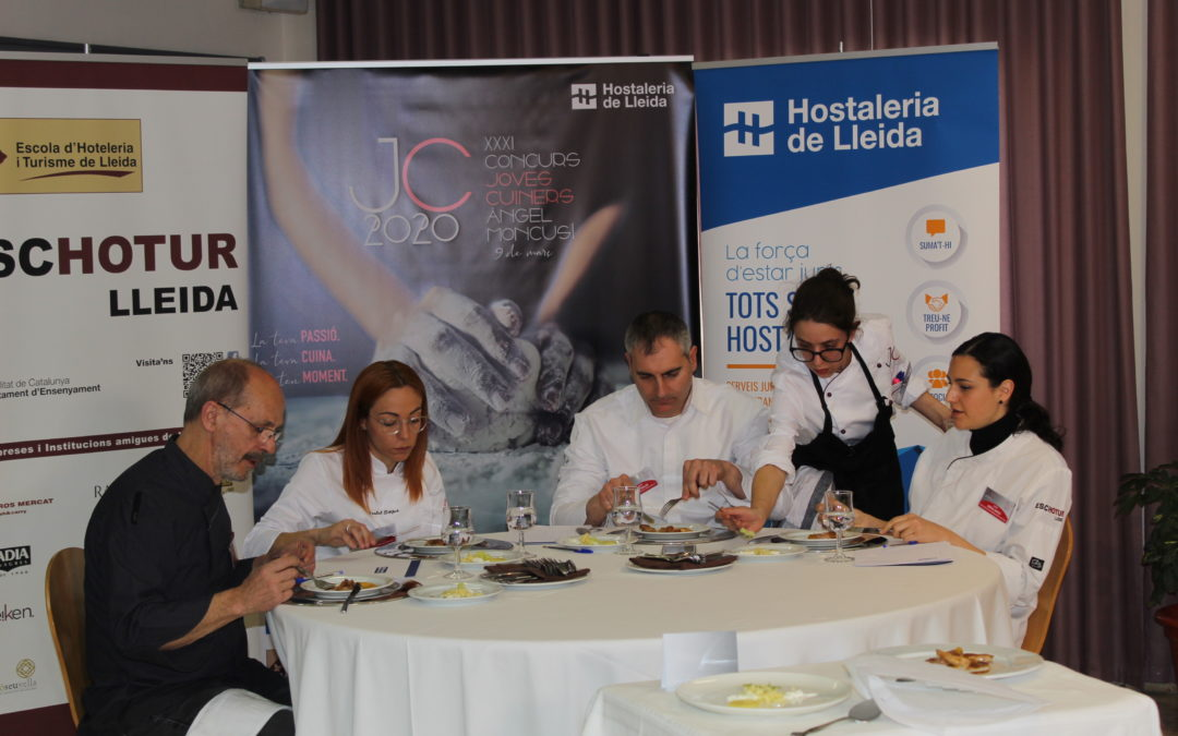 Marina Clavero, guanyadora del Joves Cuiners Àngel Moncusí 2020