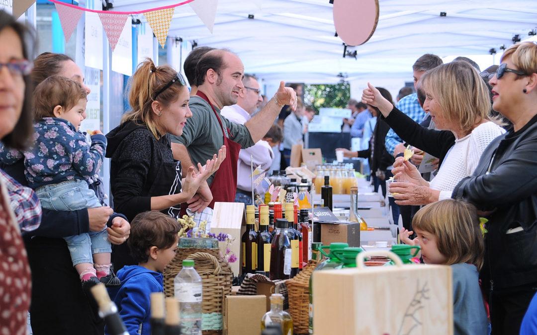 Un total de 45 productores locales, en la III Feria Caprabo de Productos de Proximidad de las Tierras de Lleida
