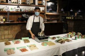 Gonzalo Ferreruela presenta un menjar per emportar gurmet perquè el comensal també 'sigui el xef'
