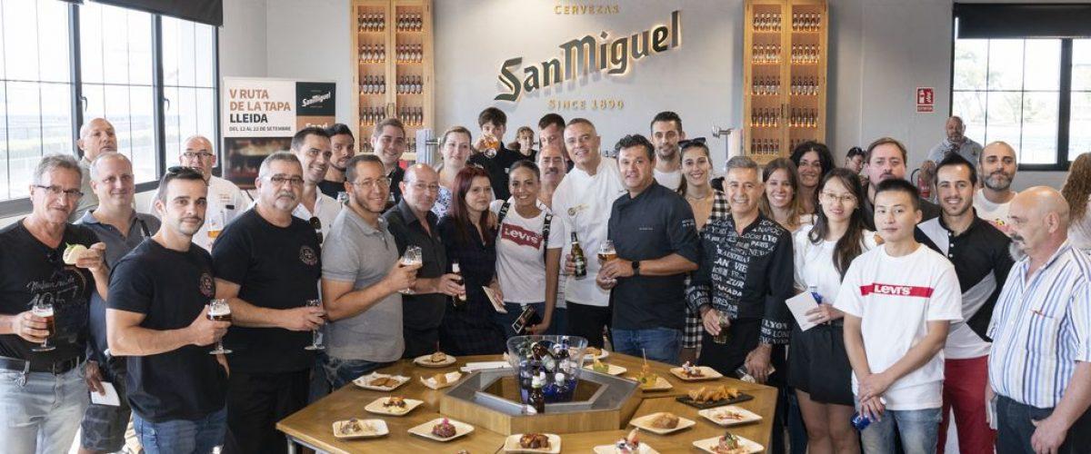 Trobada d'hostalers a San Miguel Lleida