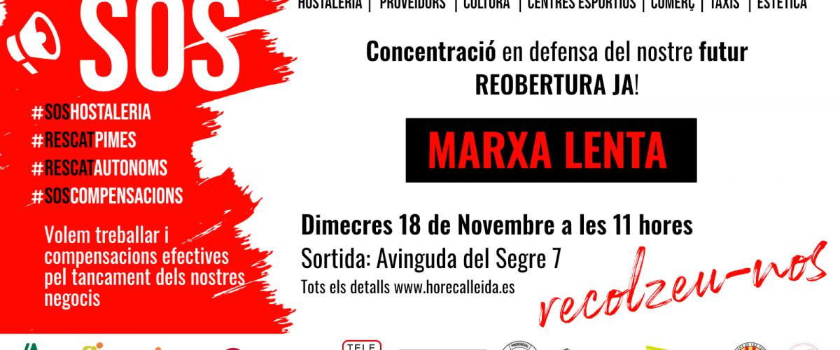SOS - MARXA LENTA, 18N