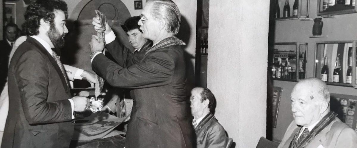 Toni Falgueras recoge un premio con presencia del Molt Honorable Josep Tarradellas
